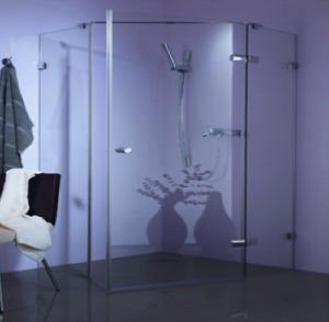 douche italienne avec porte